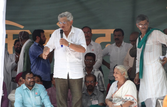 Yechury becomes CPM Gen Secy again