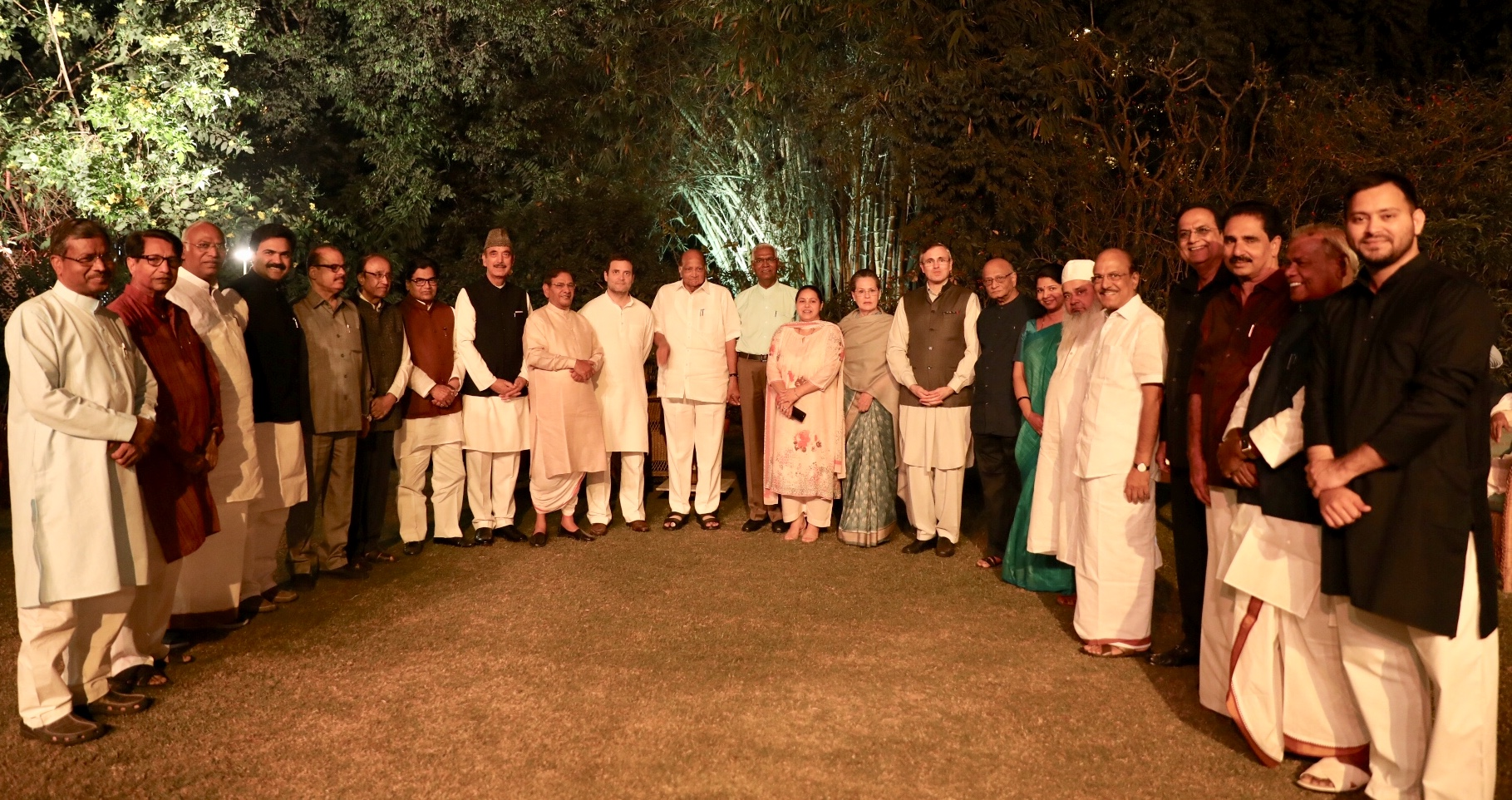 Sonia call Opposition Leaders